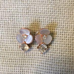 Kate Spade pansy earrings
